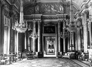 Зеленая гостиная, Букингемский дворец, приблизительно, 1959 год