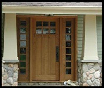 1000 images about craftsman style home on pinterest for Craftsman french doors