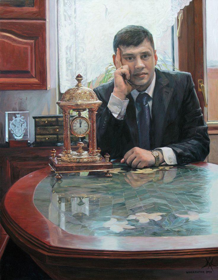 Judge Advocate Maxim Kuryla. Portrait.