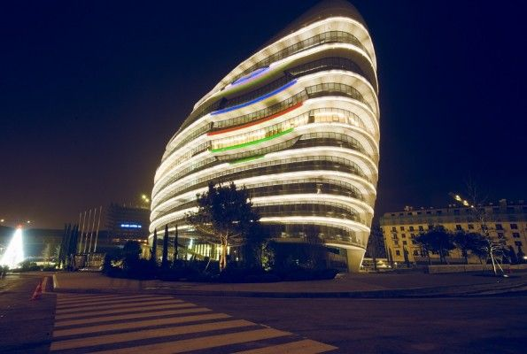 Baku White City Office Building by Atkins
