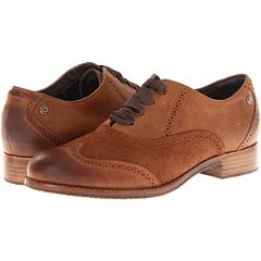 Sebago Claremont Brogue in Cinnamon/Bronze. so... I bought these