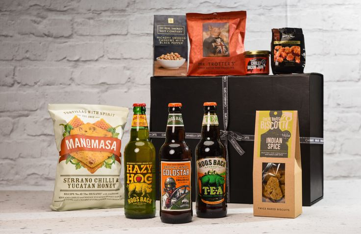 Award winning Ale, Cider and Chilli Hamper - A delicious hamper just for him with a selection of award winning ales, delicious cider and fiery treats.