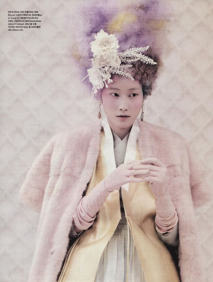 Powdery Flower for Vogue Korea Jan 2014 2