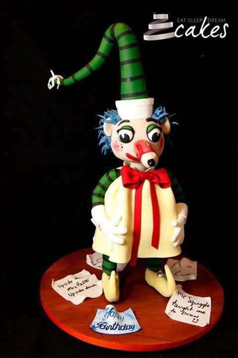 Mr Squiggle cake by Eat Sleep Dream Cakes