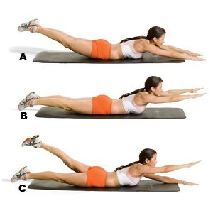 How to Protect Your Spine and Lower Back While You Lose Weight: Lower Abs, Lower Back Exercise, Gold Medal, Sexy Women, Lower Ab Workouts, Lower Backs, Weights Loss, Lower Back Workout, Health Magazines