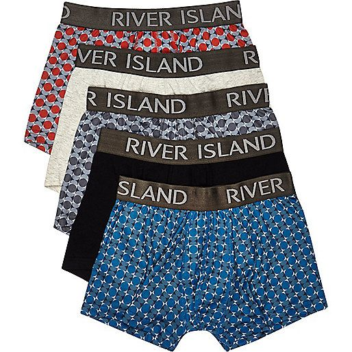 Mixed print hipsters pack - hipsters - underwear - men