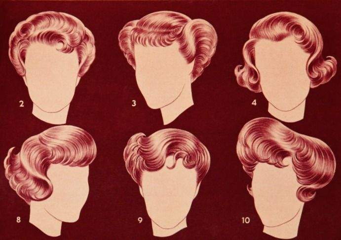 1950 hair styles popular hairstyles 1950s modern shop at 1950s 2300