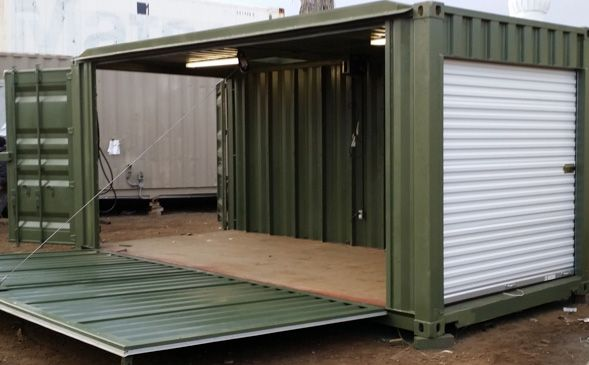 Mobil Container Solutions Pismo Supplies Used Steel