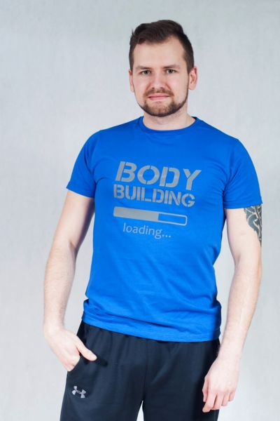 ODBLASKOWA KOSZULKA BODYBULIDING - Odblaskomat - Koszulki z napisami