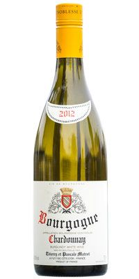 Thierry et Pascale #Matrot Bourgogne Blanc2012 - 20 Wines for $20 - New York Times