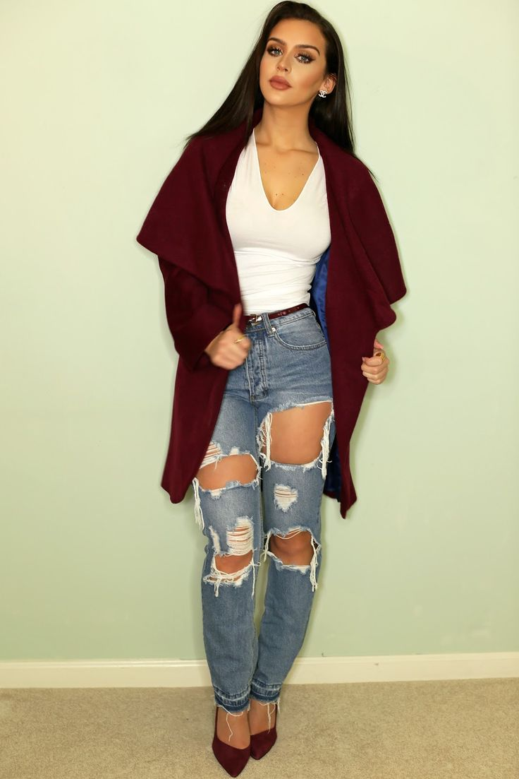 Day to Night Outfit Ideas | Burgundy | the Beauty Bybel