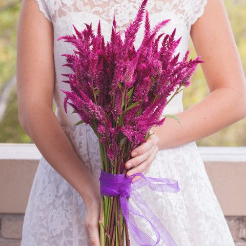 10 best diy wedding bouquets images on pinterest diy wedding it doesnt get much better than this charming summery bouquet of bright celosia unique and easy to diy with our celosia bouquet kit solutioingenieria Image collections