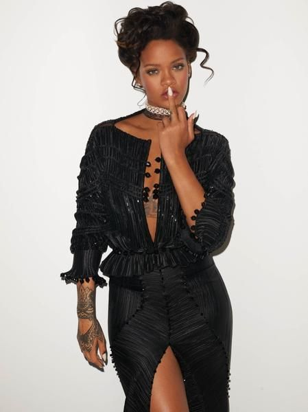 CR Fashion Book Issue#9 feating Rihanna on the cover photographed by Terry Richardson.