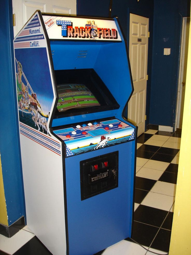 TRACK AND FIELD arcade 1cc #61 Konami