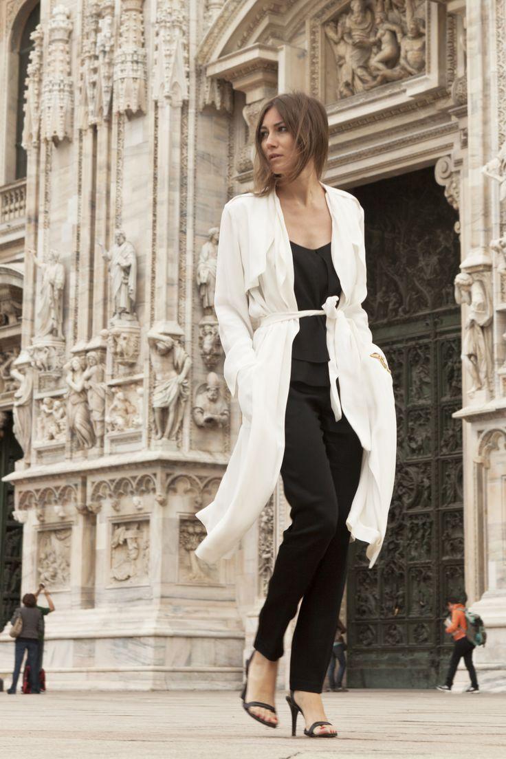 MINIMAL + CLASSIC: Giorgia looking a-mazing. the usual. Milan. #GiorgiaTordini