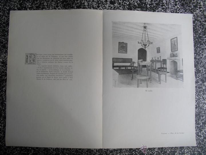 Libros antiguos: 1928 LOS PAZOS GALLEGOS MARQUES DE QUINTANAR CASTILLO DE VIMIANZO - Foto 2 - 50129862