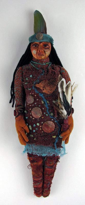 Standing Rock Protector Healing Doll Barb Kobe 2016