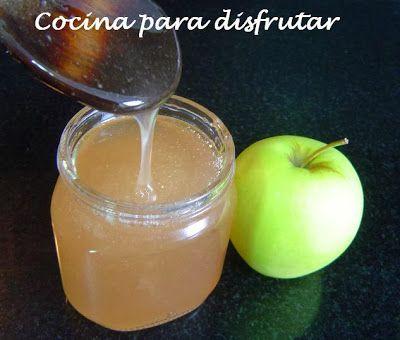 Receta básica de Gelatina de manzana, ideal para dar brillo a nuestros pasteles de Disfrutando de la Cocina - Cocina para disfrutar