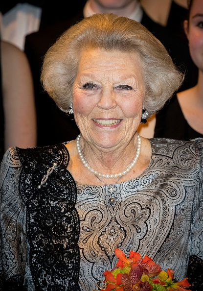 The Royal Watcher tumblr: Princess Beatrix attended the youth concert performance at the Royal Conservatorium on March 24, 2017.     Photo by Patrick van Katwijk/Getty Images