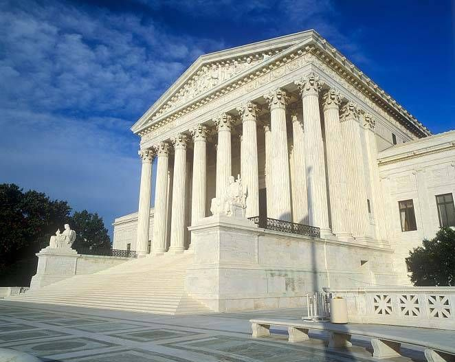 USA Buildings | Famous Buildings in Washington, DC - The US Supreme Court Building by ...