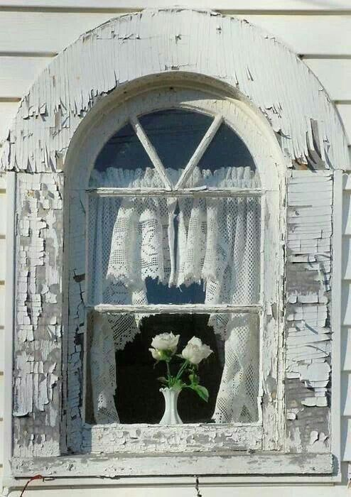 Love this old window.