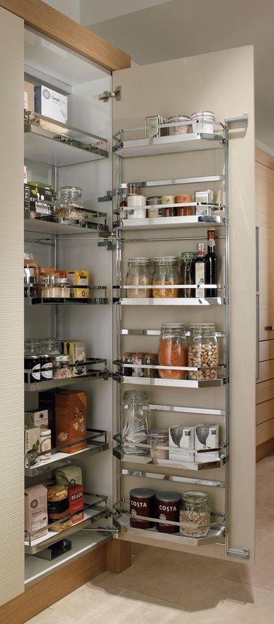 nice way to increase pantry storage