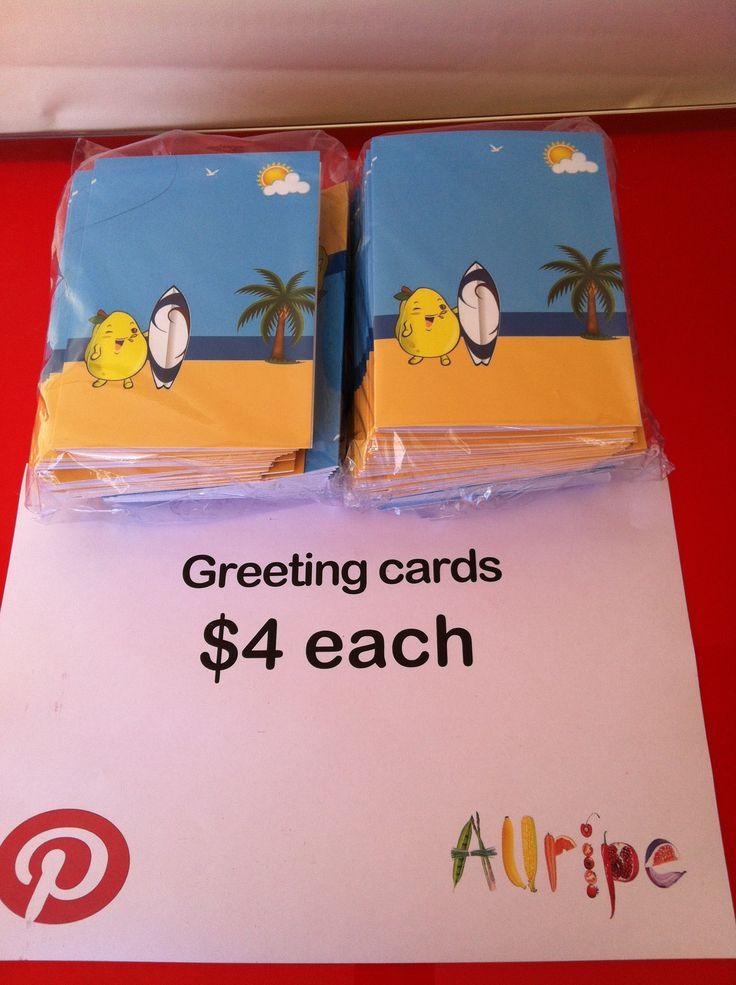 Allripe Greeting Card $4