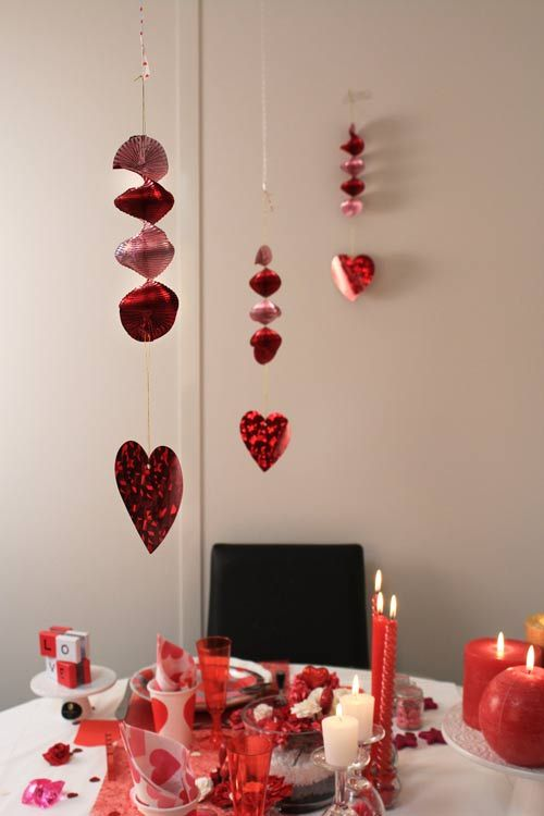 Decora la tavola per una cena tra innamorati - Idee per feste