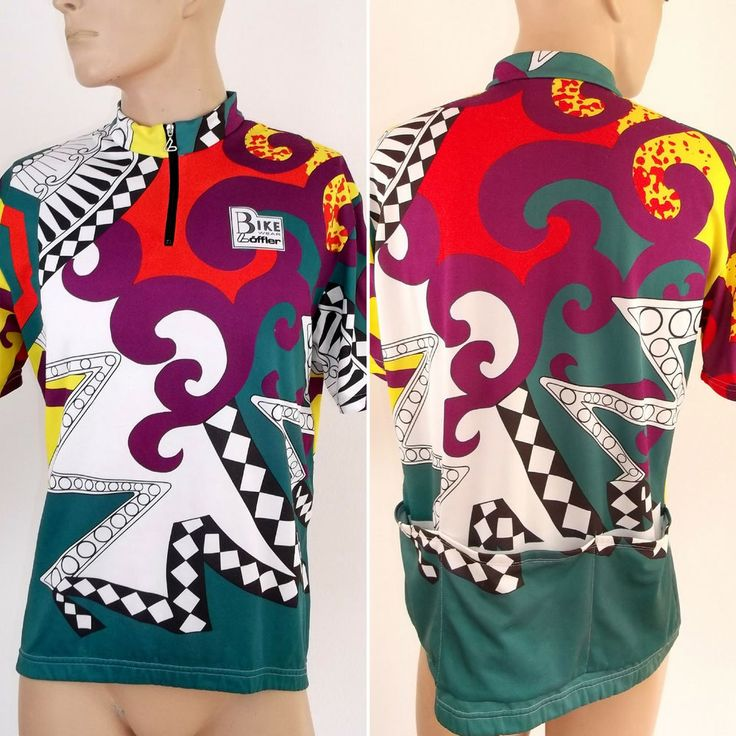 LOFFLER Cycling Jersey Mens Size XL  XXL cycle Shirt Italy Vintage