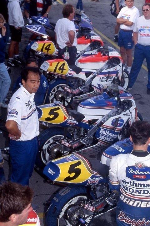 NSR Honda Line up