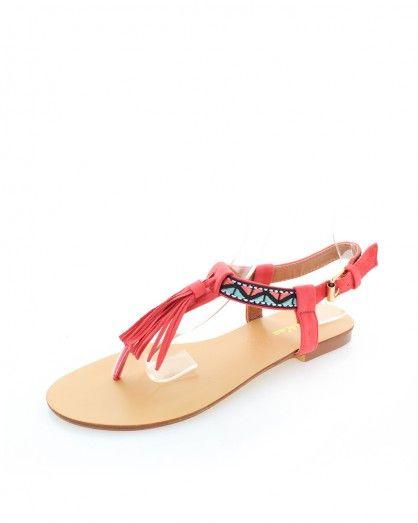 Korálové sandály Ulina