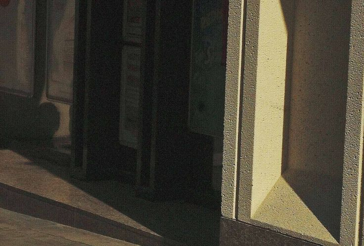Homage to Edward Hopper n° 4 of 10 by Jonathan Eden-Drummond