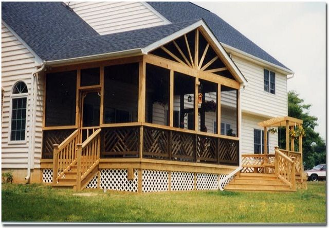 Screened In Porch Ideas Screen Porch Plans For Your Home