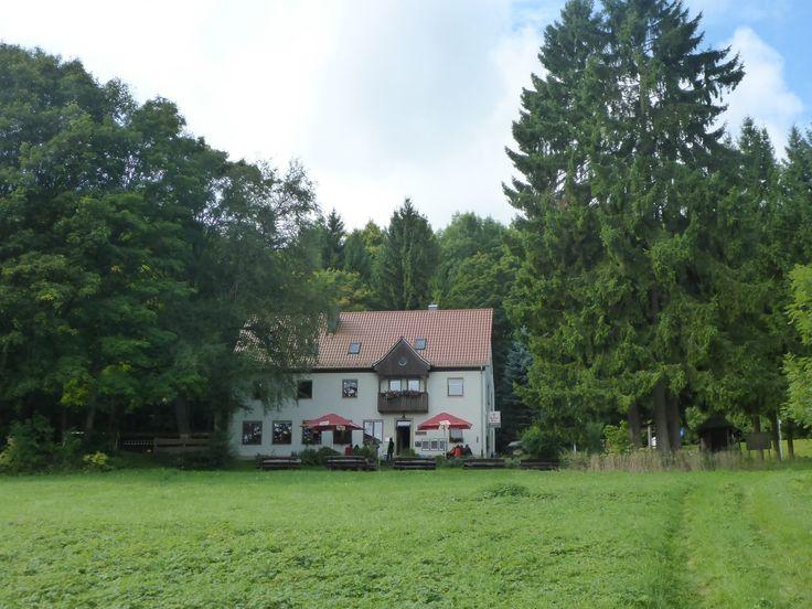 Diese Wanderung führte mich von Urspringen zum Schweinfurter Haus und über Sondheim vor der Rhön wieder zurück.