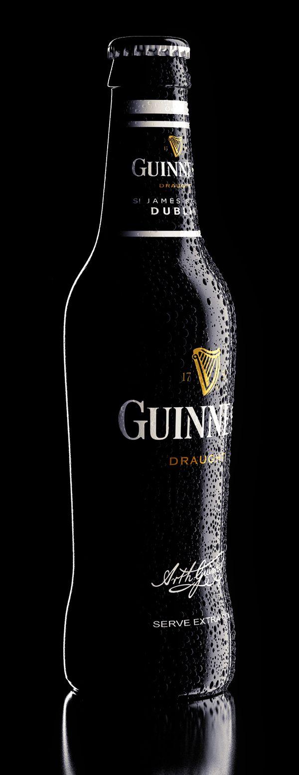 Guinness by Александр Докучаев, via Behance