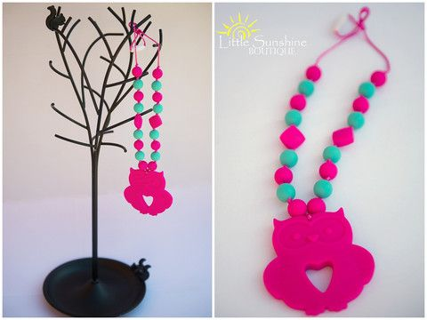 Teething necklaces for moms. Silicone Teething Necklaces. Nursing Necklace