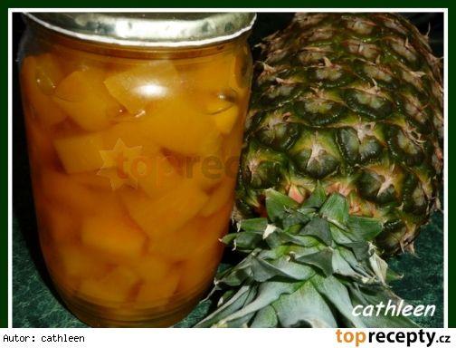 Dýně jako ananas