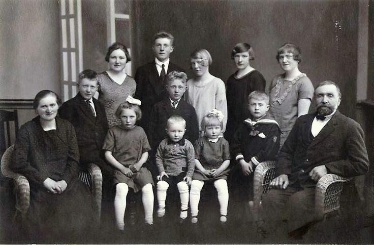 My grandparent and their 11 children.