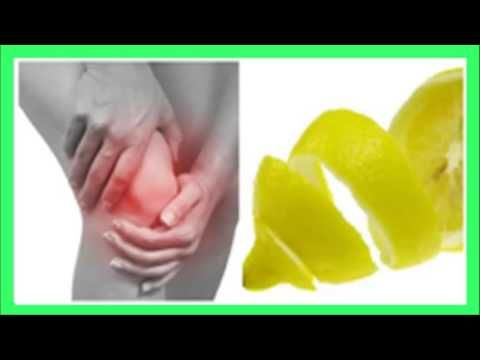 Cómo utilizar la cáscara del limón, para calmar el dolor en las articulaciones. - YouTube