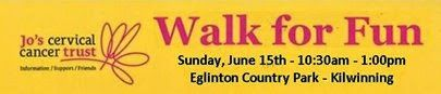 the3towns-archive: 'Walk for Fun' and fight cervical cancer