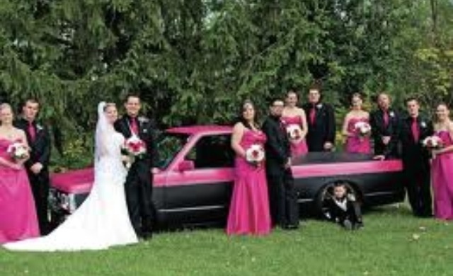 I will have a car themed wedding!