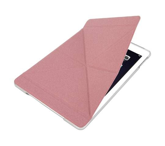 MOSHI Versacover for iPad Air 2  Pink -  Description Protect your iPad in style with VersaCover's sophisticated design. Inspired by origami, its unique folding cover displays your iPad at ...