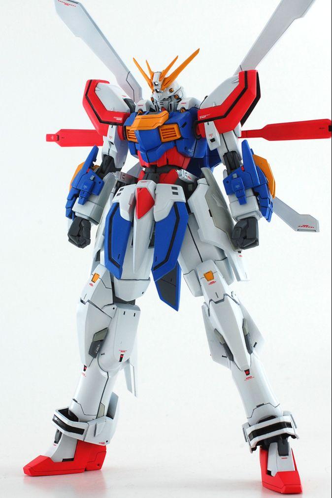 GUNDAM GUY: 1/144 God Gundam - Custom Build