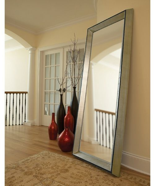 25 best ideas about oversized mirror on pinterest large console table large floor mirrors. Black Bedroom Furniture Sets. Home Design Ideas