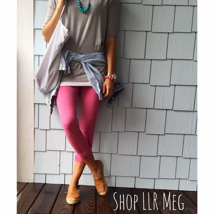 LuLaRoe gray Irma and Pink Leggings | Shop LLR Meg | LuLaRoe | Pinterest | Pink leggings