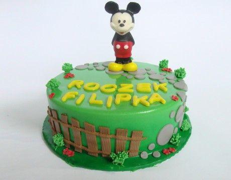 Torty Kraków Tort urodzinowy - Cukiernia Gateau Tort Myszka Miki #cake, #tort, #miki, #urodziny, #myszka, www.cukierniagateau.pl