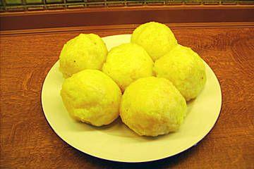 Kartoffelklöße halb und halb
