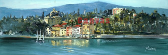"""Riviera Linguire Coastline"" Limited Edition by Judith Dalozzo"