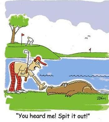 What's the worst thing that could happen on the golf course? Haha! Find more Golf Jokes, Quotes, Lessons, and Tips here at #lorisgolfshoppe