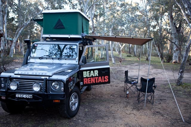 #glamping Bear Rentals style!